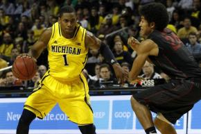 Glenn Robinson III is reportedly headed to the NBA. (Photo credit: http://bleacherreport.com/articles/1923299-glenn-robinson-iii-having-more-fun-and-michigan-is-seeing-the-benefits )