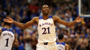 Joel Embiid has declared for the 2014 NBA Draft. (Photo credit: http://www.rantsports.com/nba/2014/03/31/5-reasons-why-joel-embiid-made-right-call-declaring-for-2014-nba-draft/ )
